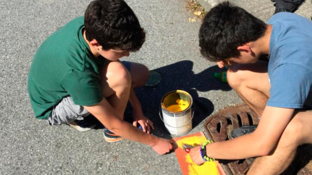 Making their Mark on Guichon Creek: Moscrop Students step up for fish