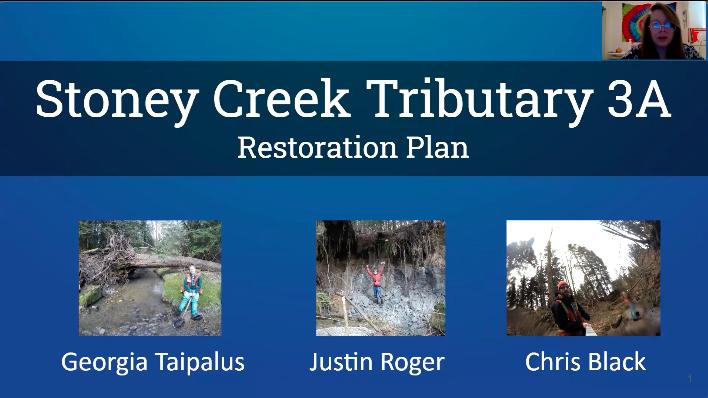 BCIT restoration plan for Trib. 3A 2020